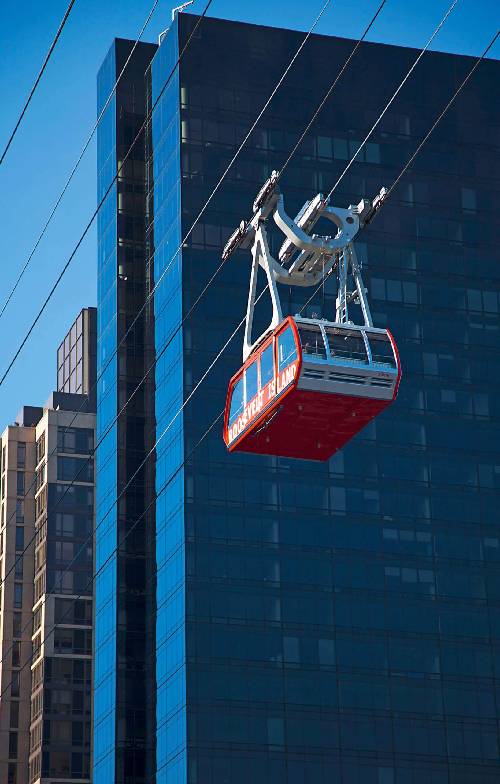 Téléphérique urbain New York POMA
