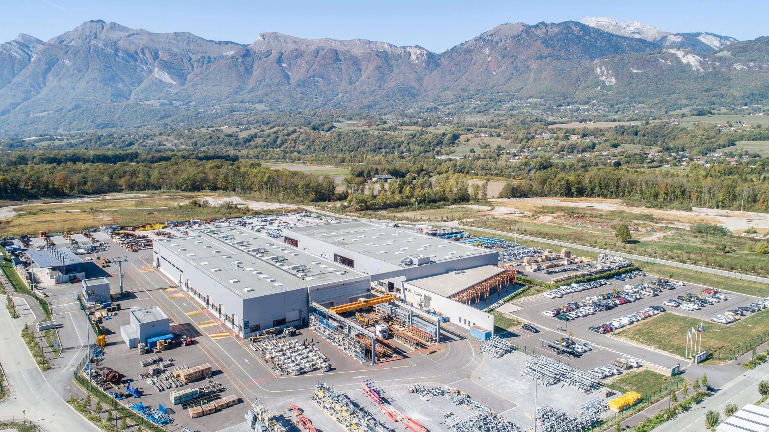 Inauguration du site de POMA Gilly sur Isère